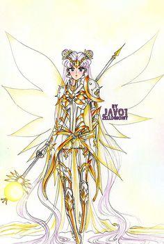 Sailor Moon - Divine Armor by zelldinchit.deviantart.com on @deviantART