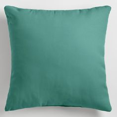 Add a vibrant splash of teal to your outdoor seating area with our versatile throw pillows in regular and large sizes. They're perfect for mixing and matching with your existing pillow collection, and come in an array of coordinating colors and sizes.