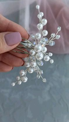 Diy Hair Jewellery, Bead Jewellery, Bridal Jewelry, Beaded Jewelry, Handmade Wire Jewelry, Wire Wrapped Jewelry, Diy Hair Accessories, Wedding Accessories, Diy Tiara