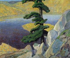Frank Carmichael, The Upper Ottawa, near Mattawa.