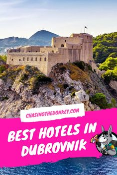 This guide to where to stay in Dubrovnik covers the - best hotels in Dubrovnik - the best hostels in Dubrovnik - he best apartments in Dubrovnik and will help you choose the ulimate accommodation in and around Europe Destinations, Europe Travel Tips, Travel Pics, Travel Articles, Travel Advice, Travel Guides, Visit Croatia, Croatia Travel, Best Vacation Spots