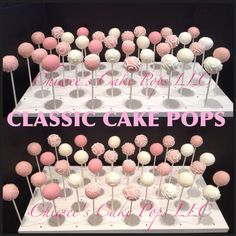 Baby shower, bridal shower, any occasion classic cake pops