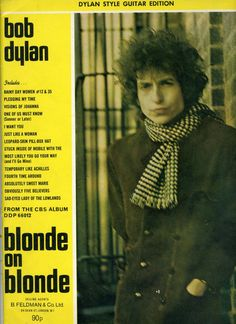 Blonde on Blonde - Bob Dylan    Sheet Music