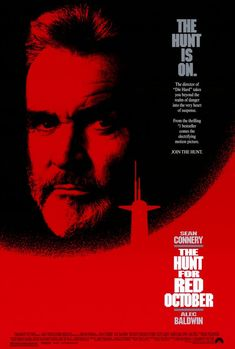 The Hunt for Red October , starring Sean Connery, Alec Baldwin, Scott Glenn, Sam Neill. In 1984, the USSR's best submarine captain in their newest sub violates orders and heads for the USA. Is he trying to defect, or to start a war? #Action #Adventure #Thriller