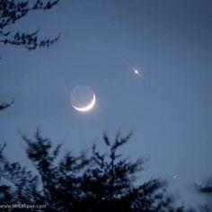 6 13 2015 --Jupiter, Venus, Moon