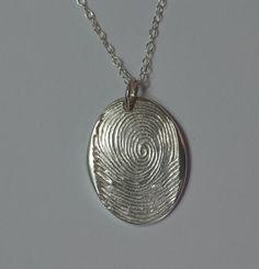 handprint pendant