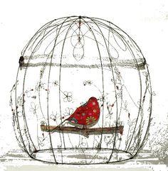 cage en fil de fer toutes dimensions sur commande avec oiseau fil de fer et tissu - unique et original by latelierdesof - cage pour oiseau libre ;-) Dimensions, Unique, Art, Sons, Atelier, Art Background, Kunst, Performing Arts, Art Education Resources