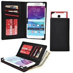 Cooper Cases(tm) Pix Lava Iris Fuel 50 / Pro 20 / Pro 30 / Pro 30+ Smartphone Wallet Case In Black (universal http://www.smartphonebug.com/accessories/best-and-coolest-15-lava-iris-fuel-50-cases-and-covers/