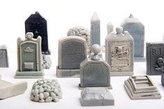 23Piece Mini Cemetery or Graveyard Kit for Your by jpants4sale, $69.00