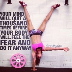 101 Best Female Fitness Motivation Pictures & Quotes #fitnesspictures #fitnessmotivation