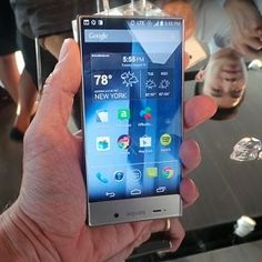 Hands On With the Sharp Aquos Crystal for #Sprint