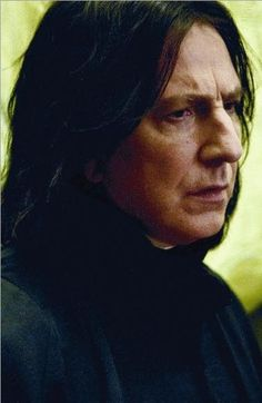 At the very tippy top of my list, there resides Severus Snape...oh, the things I would do to that fictional character...or the gorgeous Mr Rickman...I'm not picky ;)
