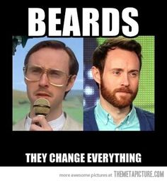 Beards… true!