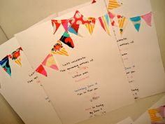 the toasted coconut: Baby Shower Invites