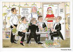 Joan Butler Classics Christmas Card - God Rest Ye Merry Gentlemen