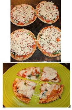 #teamharless ADVOCARE margarita pizza recipe. It is SOOO good and only 146 calories per pizza!! Who ever said eating healthy couldn't be delicious too!?  Crust: oat bran & stone ground whole wheat pita bread. Sauce: pureed tomato & minced garlic. Toppings: fresh basil, sliced tomatoes & mozzarella cheese. YUMMMMMM!   Follow us on FB: https://www.facebook.com/harlessadvocareteam  Or visit: https://www.advocare.com/14026152  #losinginches #sheddingpounds #lean #cleaneating