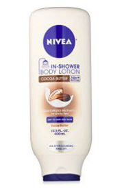 Sign up for a FREE sample of Nivea Shower Cocoa Butter Body Lotion!