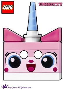 Unikitty Mask | The Lego Movie Free Printables, Coloring Pages, Activities and Downloads | SKGaleana