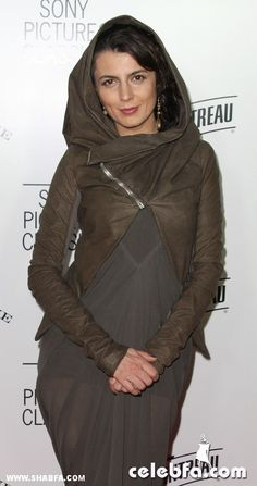 Leila Hatami. Now, were would one purchase a jacket like such?