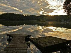 Ridgefield, CT lake