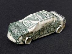 CAR Money Origami - Designed by Won Park
