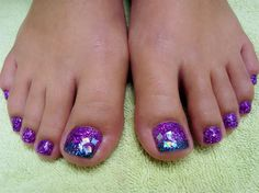 Square Peg Toes by PurplePinkie from Nail Art Gallery