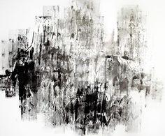 Mountain Study VIIII, 2017, Acrylic paint on cotton canvas. 80 cm x 120 cm