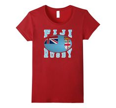 #Fiji Rugby Fans National Flag #Rugby Ball #TShirt your #Rio2016 teams #rugby7s #olympics  http://amzn.to/29O17A2