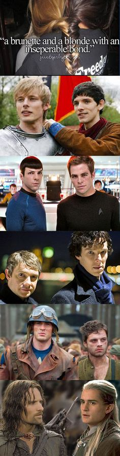 Spock and Kirk tho..
