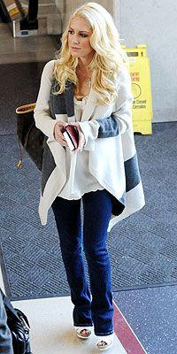 Heidi Montag Airport Style