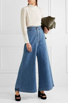 Marni - High-rise Wide-leg Jeans - Blue - IT