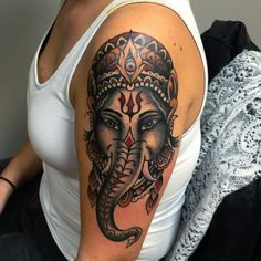Ganesh for Edel from last week, thxx!  Luik - Liege Tox Cit'Ink : 10-11 October Brussel tattoo convention: 13-15 November