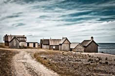 Helgumannen fishing village, Gotland, Sweden. Calle Strand.