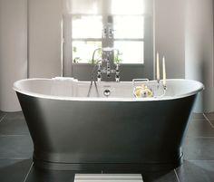 Imperial Radison Cast Iron Bath. #Freestanding #Baths from UK Bathrooms www.ukbathrooms.com