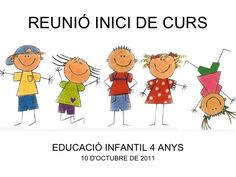 Reunió ei 4 anys 2011 Del Conte, Back To School, Fictional Characters, Paper, Parents Meeting, Reunions, Classroom, Day Planners, School