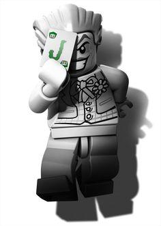 Lego Batman 2 - Joker - Arkham City Parody!