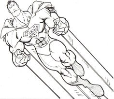 free superhero coloring pages - Google Search
