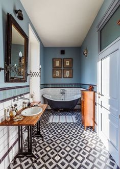 Eclectic Decor: 15 Magnificent Eclectic Bathroom Designs That Are . Eclectic Bathroom, Eclectic Decor, Bathroom Interior Design, Modern Bathroom, Bathroom Designs, Bathroom Ideas, Bathroom Mirrors, Master Bathroom, Bathroom Cabinets