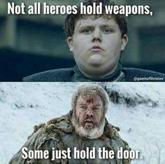 Oh Hodor *heart breaks all over again*