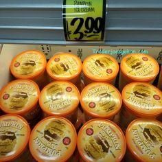 Pilgrim Joe's/Trader Joe's  Pumpkin Ice Cream  946ml  $3.99 トレーダージョーズ パンプキンアイスクリーム #traderjoes #pumpkin #icecream