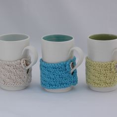 I love ivory pottery and knits and muted colours.