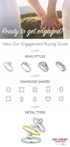 Congratulations! We're here to help guide you through the process of finding the perfect ring with our engagement buying guide. A better wedding experience is waiting for you.