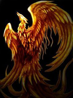 Mythical Phoenix Bird Art | The Musings of a High Priestess
