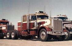 Life of a driver. Big Rig Trucks, New Trucks, Cool Trucks, Peterbilt 359, Peterbilt Trucks, Antique Trucks, Vintage Trucks, Trailers, Truck Quotes