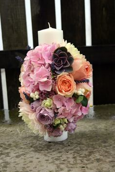 Flowers of Soul: Lumanari de botez Anastasia, Wedding Flowers, Table Decorations, Baby, Blue Prints, Baby Humor, Infant, Babies, Babys