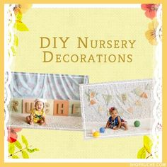 DIY nursery decorations #baby