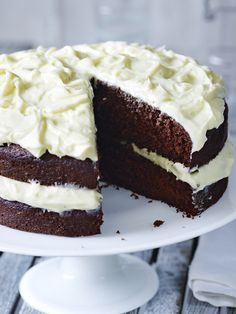 Easter = chocolate. Celebrate with this easy chocolate cake by Mary Berry. Quick Chocolate Cake, Chocolate Icing Recipes, White Chocolate Icing, Easter Chocolate, Cake Recipes Uk, Celebration Chocolate, Breakfast Dessert, Cake Toppings, Yummy Cakes
