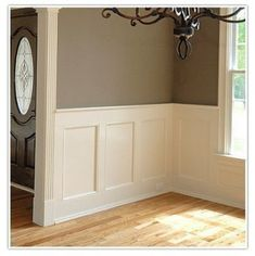 Boiserie - Paneling Davison Davison Maddox - this is what I was looking for! I want this all over my house simeday Dining Room Paneling, Dining Room Wainscoting, Wainscoting Panels, Wainscoting Styles, Dining Room Walls, Painted Wainscoting, Cover Wood Paneling, Modern Wall Paneling, Paneling Walls