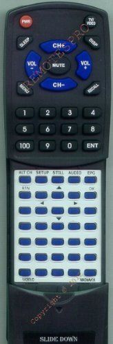 MAGNAVOX Replacement Remote Control for NA383UD, TB100MW9, TB100MW9A, TB110MW9 by Redi-Remote. $29.70. This is a custom built replacement remote made by Redi Remote for the MAGNAVOX remote control number NA383UD. *This is NOT an original  remote control. It is a custom replacement remote made by Redi-Remote*  This remote control is specifically designed to be compatible with the following models of MAGNAVOX units:   NA383UD, TB100MW9, TB100MW9A, TB110MW9, TD100MW9, TV100...