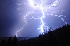 Lightning bolt from the deck